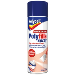 Polycell Quick Drying Polyfilla Spray