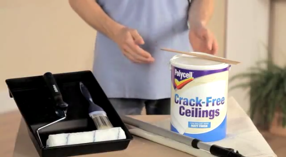 Polycell Crack Free Ceilings Restore Cracked Ceilings