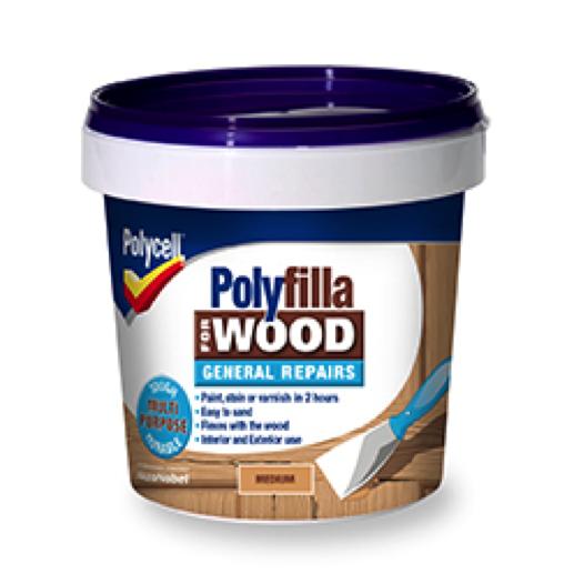 how to use polyfilla powder